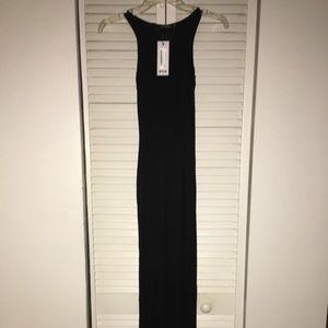 NWT Boohoo Phoebe Front Sleeveless Maxi Dress